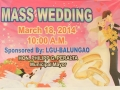 Mass Wedding March 18, 2014