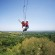 The country's longest zipline