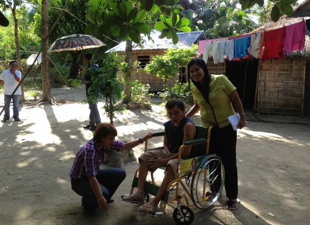 DISTRIBUTION OF WHEELCHAIRS TO THE PWDs (2)