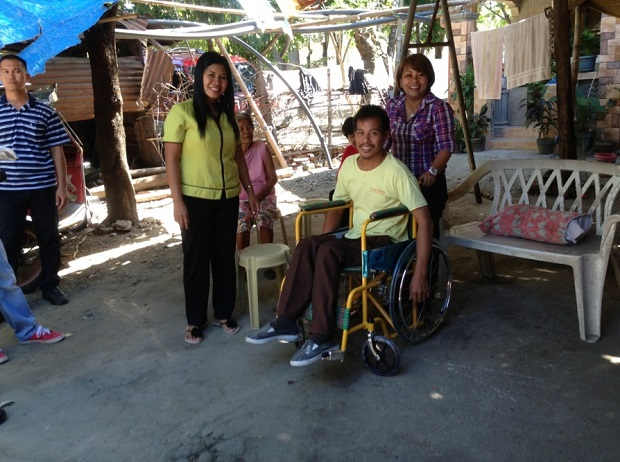DISTRIBUTION OF WHEELCHAIRS TO THE PWDs (3)