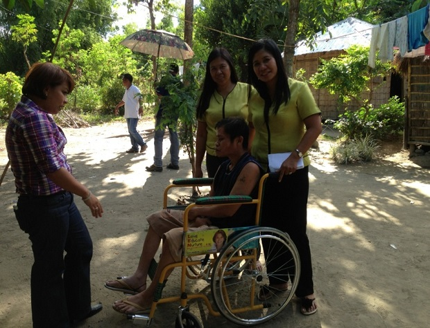 DISTRIBUTION OF WHEELCHAIRS TO THE PWDs (4)