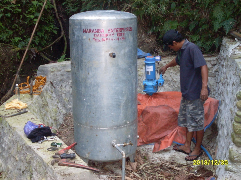 INSTALLATION OF WATER SYSTEM (1)