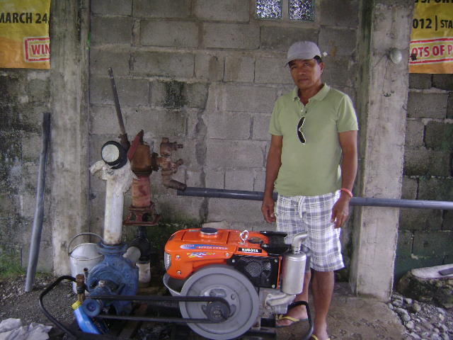 Pump and Engine Set