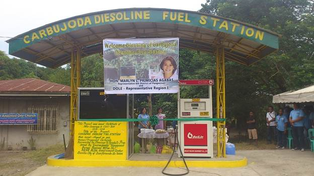 Awarding of Diesoline Fuel Station Project (1)