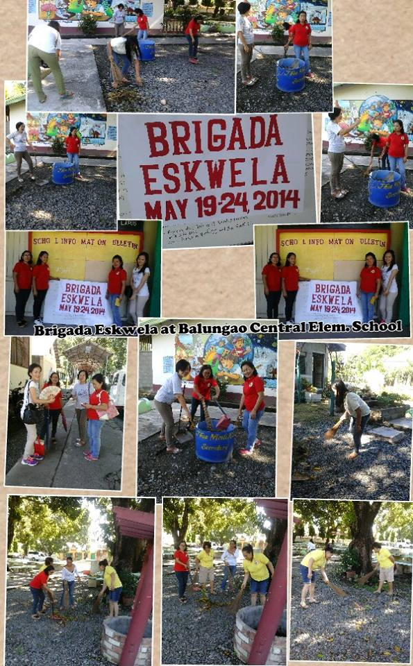 BRIDAGA ESKWELA AT BALUNGAO CENTRAL ELEMENTARY SCHOOL