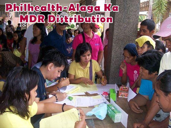 MDR DISTRIBUTION PHILHEALTH – ALAGA KA (1)
