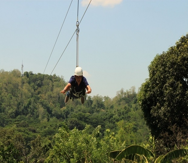 OPENING OF 1.4 KM. CABLE ZIPLINE (5)