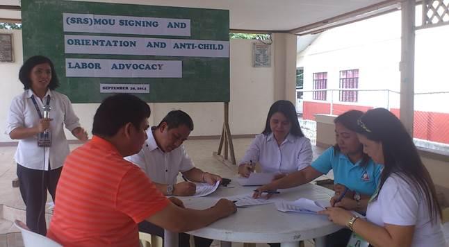 Skills Registry System (SRS) MOU Signing
