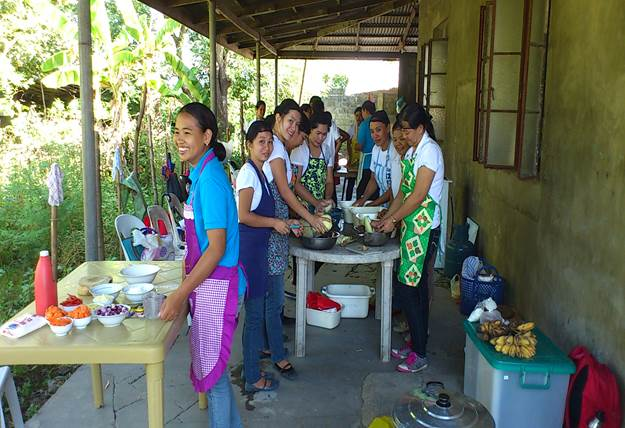 Skills Training in Brgy.Pugaro( Food Processing)