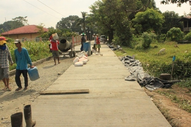 CONCRETING OF FARM TO MARKET ROAD AT BRGY. SAN MARCELINO (2)