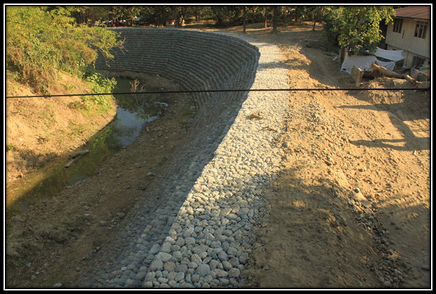 REHABILITATION OF RIVER BANKS AT BRGY. RAJAL
