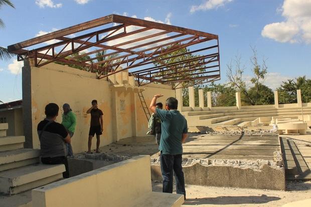 RENOVATION OF STAGE AT THE MUNICIPAL AUDITORIUM (1)