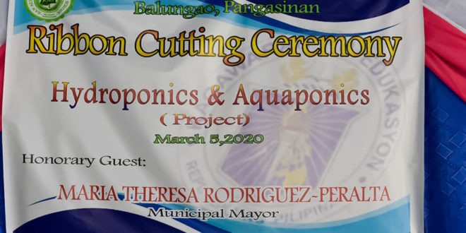 Ribbon Cutting Ceremony Hydroponics & Aquaponics (Project)