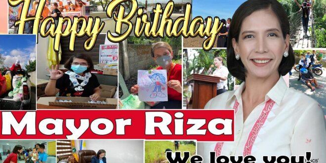 Happy Birthday Mayor Riza