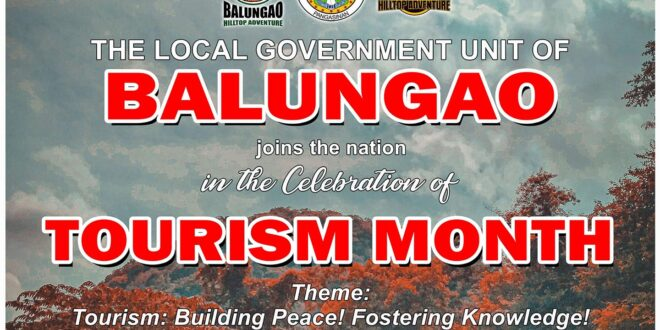 LGU Balungao joins the nation in the Celebration of Tourism Month