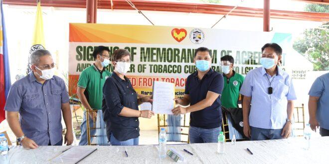 Turn-over ceremony ng Tobacco Curing Barn, isinagawa sa Balungao